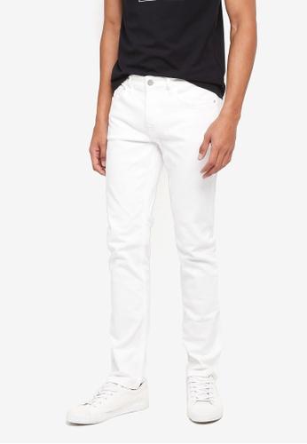 Calvin Klein 白色 A-Skinny-GW CMF Jeans - Calvin Klein Jeans E1DE4AA7CE6FE9GS_1