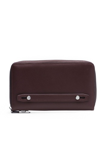 Faire Leather Co. brown Specter VT1 Travel Wallet (Dark Brown) - Travel Leather Accessories C943DAC325A2C2GS_1