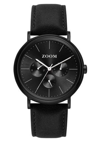 Zoom black Casual Men's Watches ZM 7117M.2502 8BE39AC5138FB6GS_1