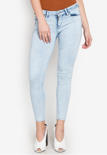 Stylistic Mr. Lee blue Ladies Extreme Skinny (Low Rise) Pants With Cloud Wash MR206AA0KEV7PH_1