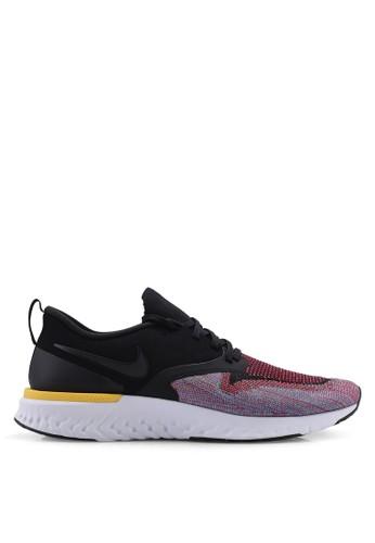 Nike black Nike Odyssey React Flyknit 2 Shoes 0453BSHC842AB6GS_1