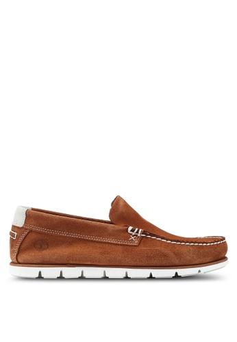 Timberland brown Tidelands Venetian Shoes 62994SH70AB6ECGS_1