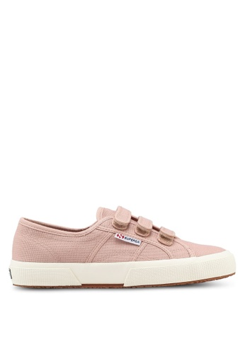 Superga pink Cot3Strapu Sneakers 5BCC9SHFAE6351GS_1