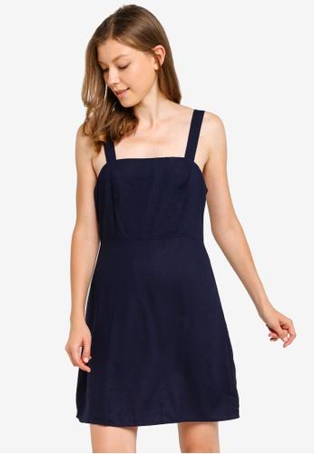 Cotton On navy Woven Krissy Dress 585A9AAB18DA67GS_1
