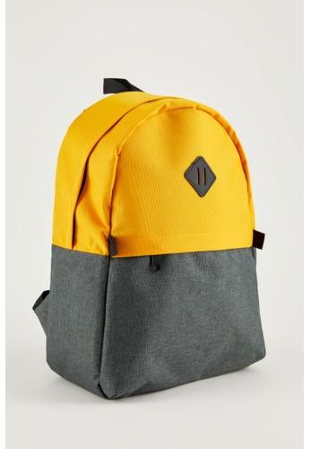 DeFacto yellow Man Backpack Bag 7ACA4ACB8398C4GS_1