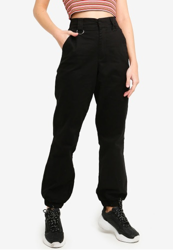 Factorie black Utility Pants D8B59AA5BBCB43GS_1