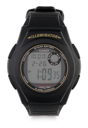 Casio black Unisex Digital Watches F-200W-9ADF 52A72ACC57CD67GS_1