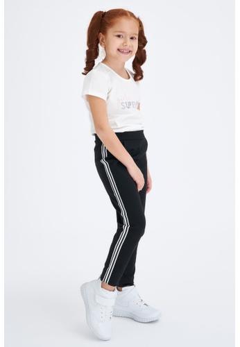 DeFacto black Girl Knitted Bottom Trousers FAA84KA0A12964GS_1