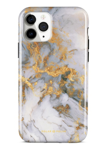 Polar Polar white Mist Marble Dual-Layer Tough Case Glossy For iPhone 11 Pro 593D9AC1381463GS_1