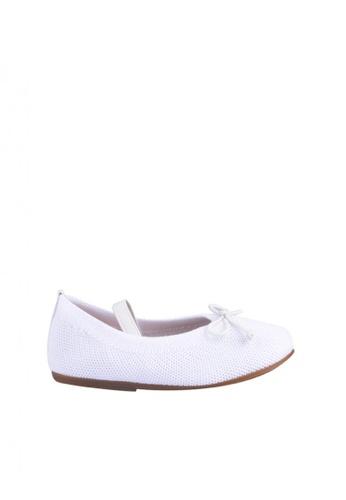 Meet My Feet white Kate (Girls Toddlers Ballet Flats) 7A32CKS3D941A5GS_1