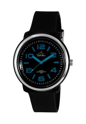 UniSilver TIME black Men's Cooledge Analog Rubber KW2007-2008 Watch UN802AC0KTDHPH_1