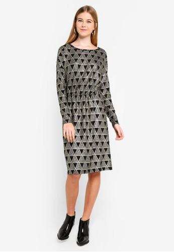 Pieces black Lara Dress C67C7AA477A8E9GS_1