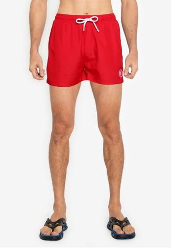 Aeropostale red A87 Swim Shorts 430EDUS1319B0CGS_1