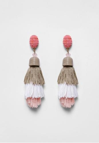 Love, Bonito pink Raul Earrings 21AB2ACDBD46CEGS_1