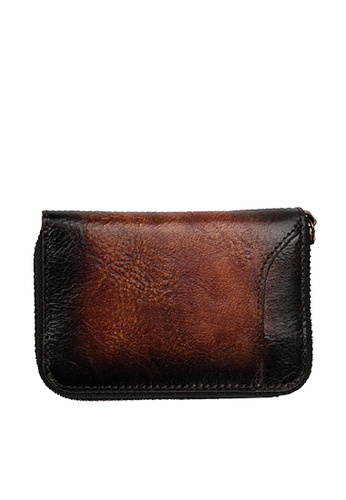 Twenty Eight Shoes brown VANSA Vintage Leather Card Holders VAM-Ch80024 85510ACCD926B0GS_1