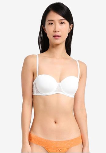 fda684a0e2 Cotton On Body white Smooth Lace Contour Strapless Bra A5B6CUS62A8AE7GS 1