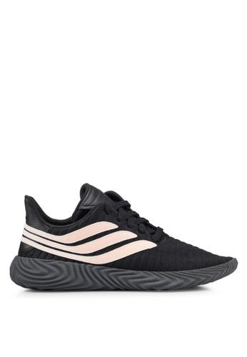 adidas black adidas originals sobakov sneakers F2A0ASH1E7A869GS_1