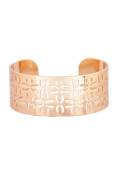 Ungaro Gold Stencil Bangle