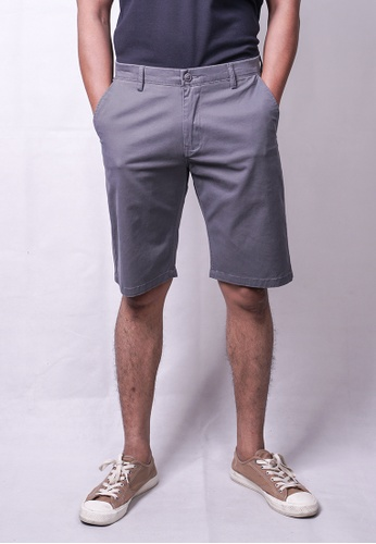 MILANO grey Milano Chino Shorts A2212AA44DA01CGS_1