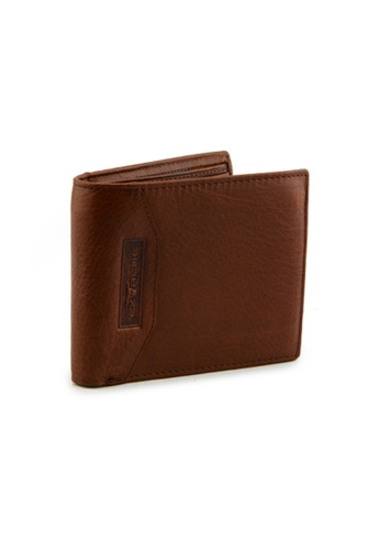 EXTREME brown Extreme Genuine Leather Short Wallet Bifold Middle Flap Dark Brown A2A9AAC564626AGS_1