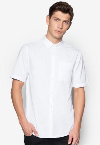 基本款短袖襯衫, 服飾, zalora 內衣服飾