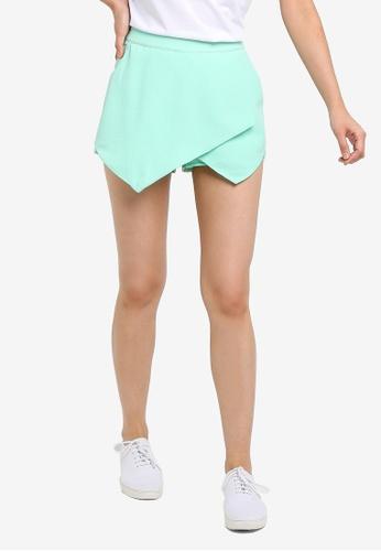 Brave Soul green Elastane Shorts 447CEAA89391BAGS_1