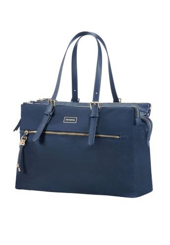 """Samsonite blue Samsonite Karissa Biz Organised Shopping 14.1"""" 317B4AC0F7F461GS_1"""