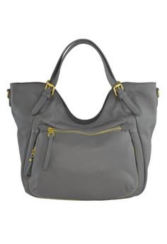 Franceca Leather Shoulder Bag