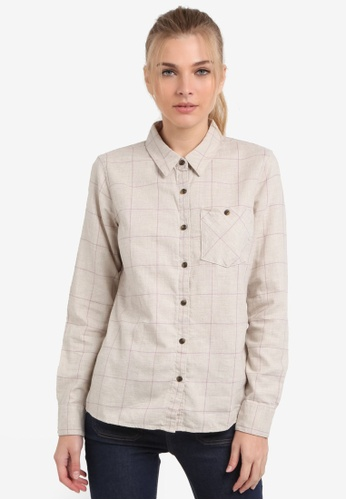 Patagonia white Heywood Flannel Shirt PA549AA0RQATMY_1