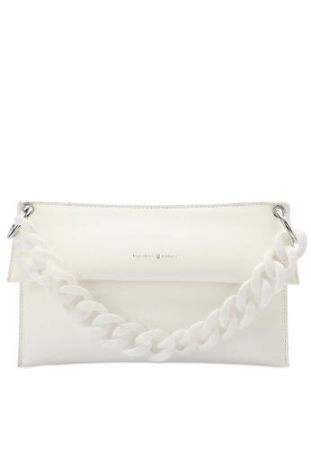 PLAYBOY BUNNY white Brand Shoulder Bag B1F2BAC0F652E6GS_1