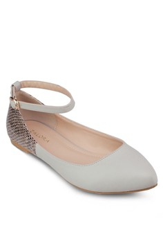 Ankle Strap Ballerinas