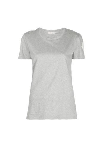 Moncler grey Moncler Macro-Logo T-Shirt in Grey F4216AA2F83F32GS_1