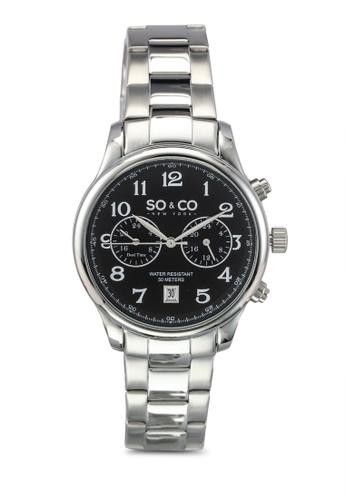 SO&CO silver Monticello Watch 5031 SO540AC0SHLMMY_1