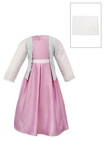 ESTRELLA pink Muslim Dress Anak ESM 130 6/12 59813KAE083A1EGS_1