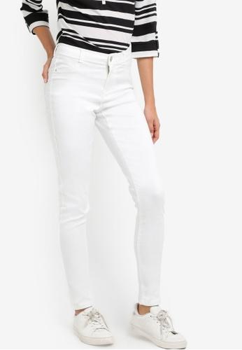 Dorothy Perkins white White Frankie - Ultra Soft Jeggings DO816AA03LTWMY_1