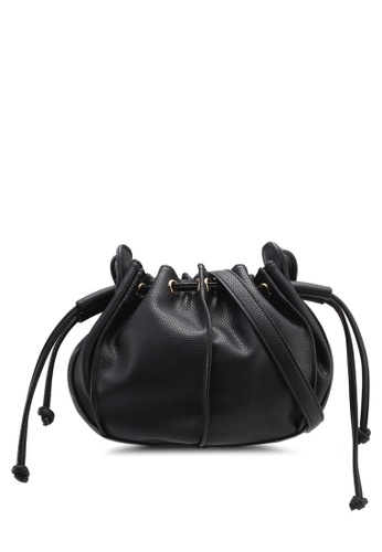 Velvet black Small Bucket Bag 209C1ACF22AD72GS_1