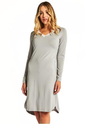Angelic 蕾絲邊飾睡裙, 服飾, 睡衣,esprit高雄門市 睡裙和連身內衣