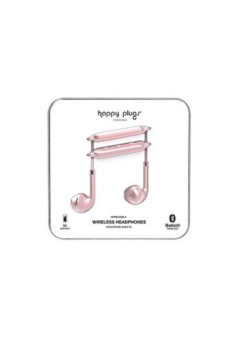 happy plugs pink and gold Happy Plugs Wireless II - Pink Gold 11FFDACF3BB5EBGS_1