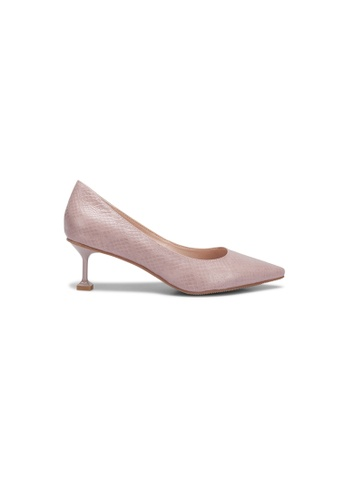prettyFIT pink Cowhide Pointy Pump Sw-803 62253SHB229C6FGS_1