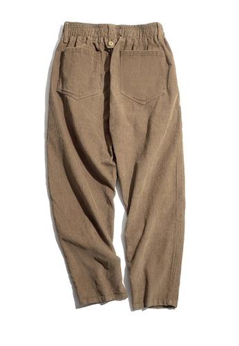 Twenty Eight Shoes brown VANSA  Vintage Solid Color Corduroy Pants  VCM-P2007047 828DDAAF0930E9GS_1