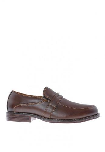 Sebago brown Flume Penny Formal Shoes 5DBCFSHF1A05D7GS_1