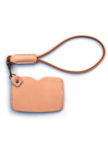 Praise brown and beige Card Holders PR067AC73RHQSG_1