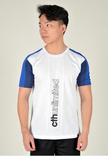 Cheetah white CTH unlimited Short Sleeve T-Shirts - CU-90628 - C1 6B069AAFBA0B92GS_1