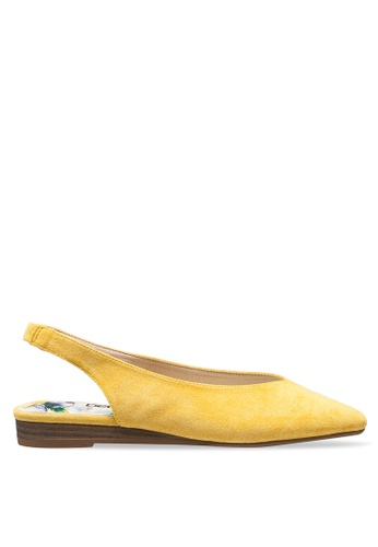 BETSY 黃色 Ava Slingback Flats 5441FSHF083A93GS_1
