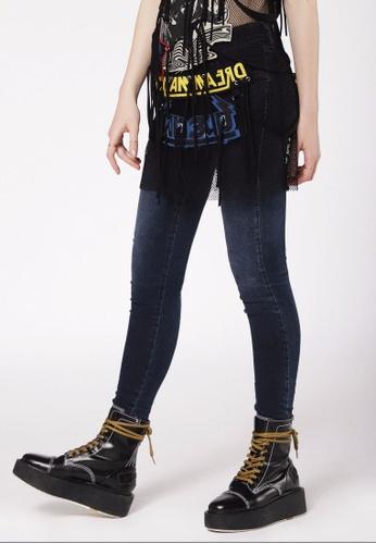 Diesel blue Super Skinny Slandy-Low Jeans-Den 93F38AA0BC7ADDGS_1