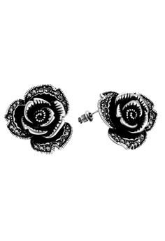 Baylee Platinum Plated Earrings