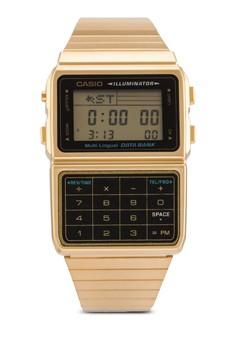 【ZALORA】 Casio 男性 25記憶計算機手錶