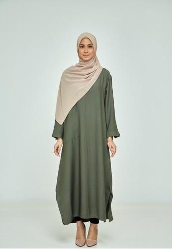 sopan warisan Tunic Long Dress A77CBAADE93228GS_1