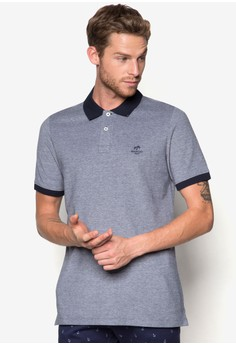 Slim-Fit Cotton-Pique Polo Shirt