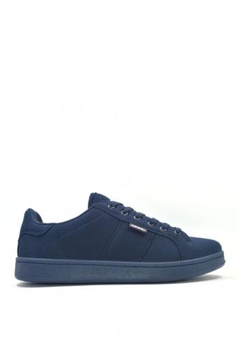 ACCEL blue and navy CS Hyperlite Twill  Skate Shoes B2E8FSHE326913GS_1